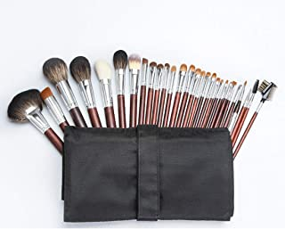 LUKEEXIN 28 adjustable animal hair professional makeup brush set/makeup artist makeup brush (Color : 28-piece)