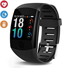 Deyawe Fitness Tracker,2019 Upgraded IP67 Activity Tracker Watch with Heart Rate Monitor Step Counter Calorie Counter Pedometer for Men Women Kids【2019 Version】