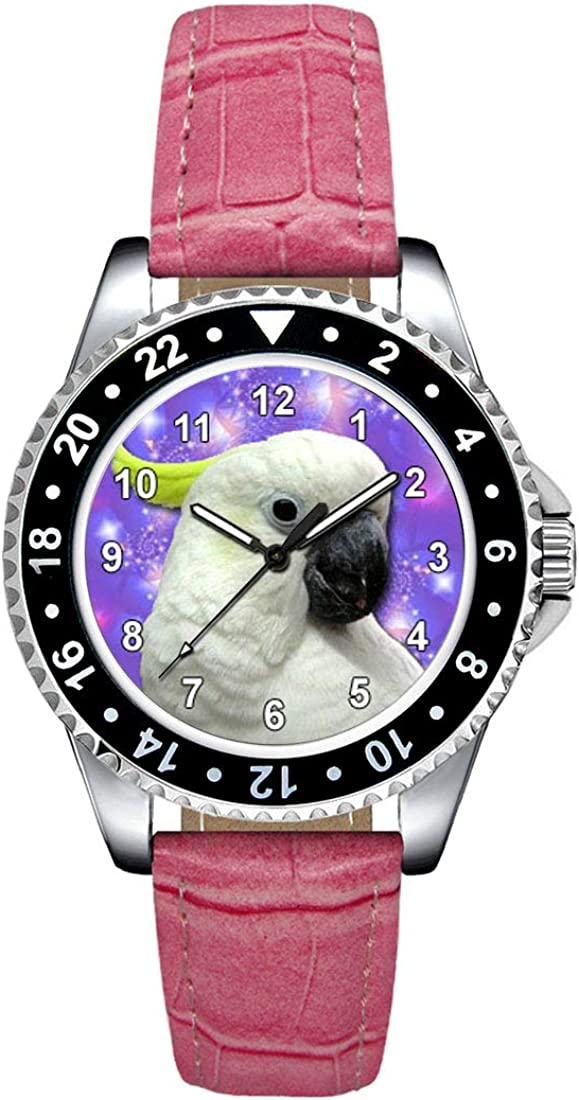 Timest - Cockatoo Women's Wrist Watch Strap Leather lowest price low-pricing with in Pi