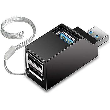 Onvian USBハブ 3ポート USB3.0+USB2.0コンボハブ バスパワー 超小型・軽量設計 (usb3.0+2usb2.0)
