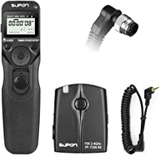 SUPON SP-710II-N1 FSK 2.4G Wireless LCD Timer Shutter Release Remote Control for Nikon D2H,D2Hs, D1x, D1h,D1, D2X, D2Xs, D200, D300, D3, D3x,D3s,D2Hs, D300S, D700, F5, F6, F100, F90(x),D100,D810A,D810