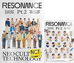 NCT 2020 The 2nd Album Resonance Pt. 2 Preorder (Departure Version) CD+Folded Poster+Photo Book+ID Card+Photo Card+Sticker...