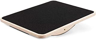 """FORLRFIT Professional Wooden Balance Board, Rocker Board-17"""" Full Anti-Slip Surface, Wobble Board for Standing Desk, AB Fitness Board,Physical Therapy Equipment for Stretching"""