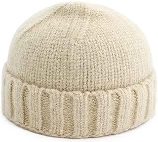 MZHHAOAN Knit Hat Korean Version of Autumn and Winter Couple en Melon Cap Warm Headgear Men and Women Cap Knit Cap,Purple,One Size