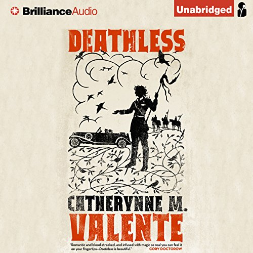 Deathless audiobook cover art