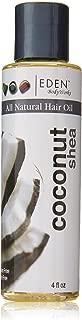 Eden BodyWorks Coconut Shea Hair Oil, 4 Ounce