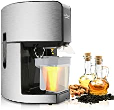 NutriChef Countertop Kitchen Oil Press - Electric Automatic Hot Oil Press Extractor with Digital LCD Display (PKOPR15)