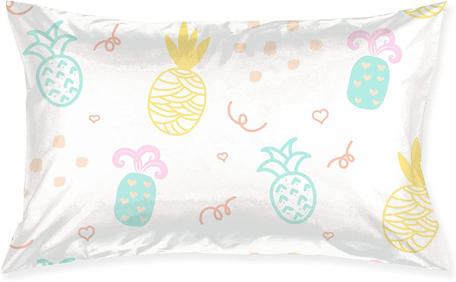 Colored Pineapple Max 52% OFF sale Pillows Pillowcase Bed Sleeping Pillow