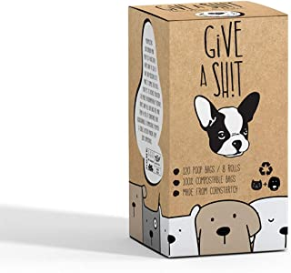 Compostable Dog Poop Bags | 10% to Charity | Biodegradable Vegetable Based | Eco and Earth Friendly Disposable Doggie Wast...