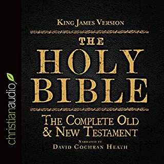The Holy Bible in Audio - King James Version cover art