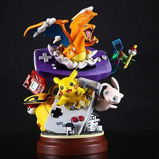 Bosi General Merchandise Pokemon, Pokémon, GBA, Fantasy Elf, Consola de Juegos Pikachu Fire Dragon, estatuas de Resina, Figuras de acción, Modelos de Juguetes, Regalos coleccionables