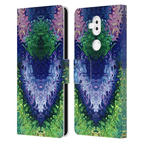 Official Joan of Art Light Starry Eyes Vivid Colours Leather Book Wallet Case Cover Compatible For ASUS Zenfone 5 Lite ZC600KL