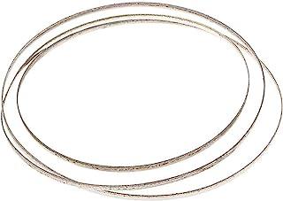 Rostfritt stål 1/8 x 37.7inch Replacement diamantbelagda bandsågblad Stained Glass Standard Blades Bandsågar - Glass Cutti...