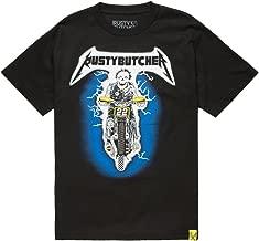 RUSTY BUTCHER Breakout Mens T-Shirt, Black, Large