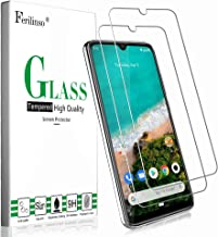Ferilinso Cristal Templado para Xiaomi Mi A3 Cristal Templado, [2 Pack] Protector de Pantalla Screen Protector con garantía de reemplazo de por Vida para Cristal Templado Xiaomi Mi A3