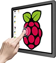 Touchscreen Portable Monitor, 12.3 Inch 1600x1200 4:3 IPS HDMI/VGA/DVI Input for Industrial Equipment,10 Point Touch Computer Display Speaker VESA Fit for RaspberryPi TV Box PS4 Xbox Laptop Phone Mac