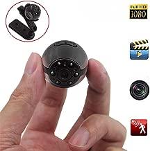 Mini Spy Hidden Camera, Heymoko 1080P/720P Full HD 6 LED Infrared Night Vision Motion Detection Portable Spy Camera Home Surveillance Camera Nanny Cam