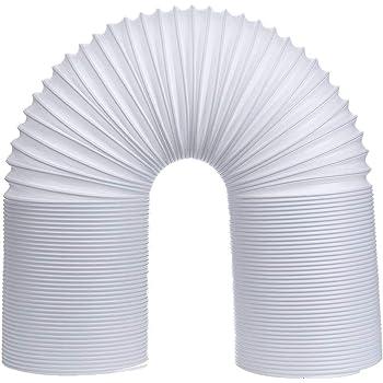 Kentop - Tubo flexible para aire acondicionado (PVC, 1,5 m, 130 mm de diámetro), Ø130mm, Länge 3M: Amazon.es: Hogar