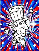 4th Of July Coloring Book: Independence Day Coloring and Maze Book for Kids 4 Years and Up with United States Mazes, Suduko and Word Search Puzzle Pages