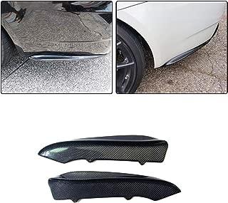 JC SPORTLINE Carbon Fiber Rear Diffuser Splitters fits for BMW E92 E93 M3 Sedan 3 Series 2008-2013 Factory Outlet