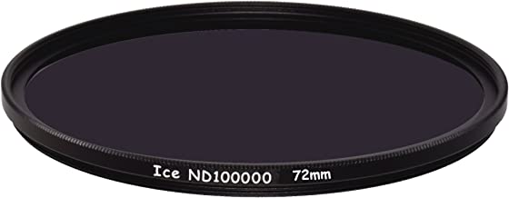 ICE 72mm ND100000 Optical Glass Filter Neutral Density 16.5 Stop ND 100000 72