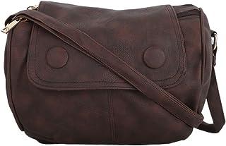 Vogue Street Girls Dark Brown Sling bag