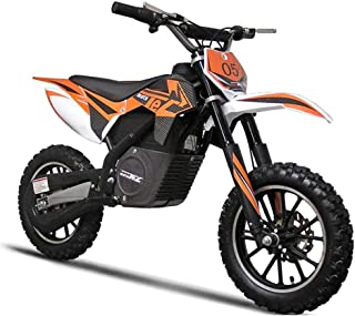 SAY YEAH Electric Dirt Bike 24V500W Rocket Power Motocross Bike,Kid Motorcycle 3 Speed Selectable