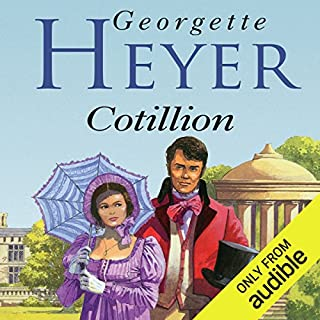 Cotillion                   By:                                                                                                                                 Georgette Heyer                               Narrated by:                                                                                                                                 Phyllida Nash                      Length: 12 hrs and 15 mins     327 ratings     Overall 4.6