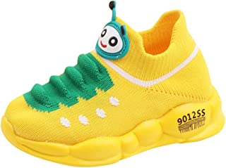 Hyioammb Children Kid Light Up Shoes Baby Girls Boys Candy Color Led Luminous Sneakers Sport Run Shoes