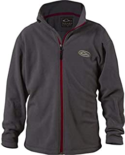 Drake Youth Camp Fleece Full Zip Jacket