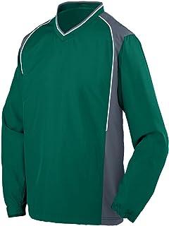 Augusta Sportswear Roar Pullover, Dark Green/Graphite/White, Medium