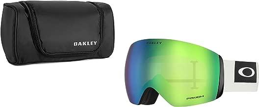 Oakley Flight Deck Blocked Out Dark Brush Grey w/Prizm Jade Iridium with Large Goggle Soft Case