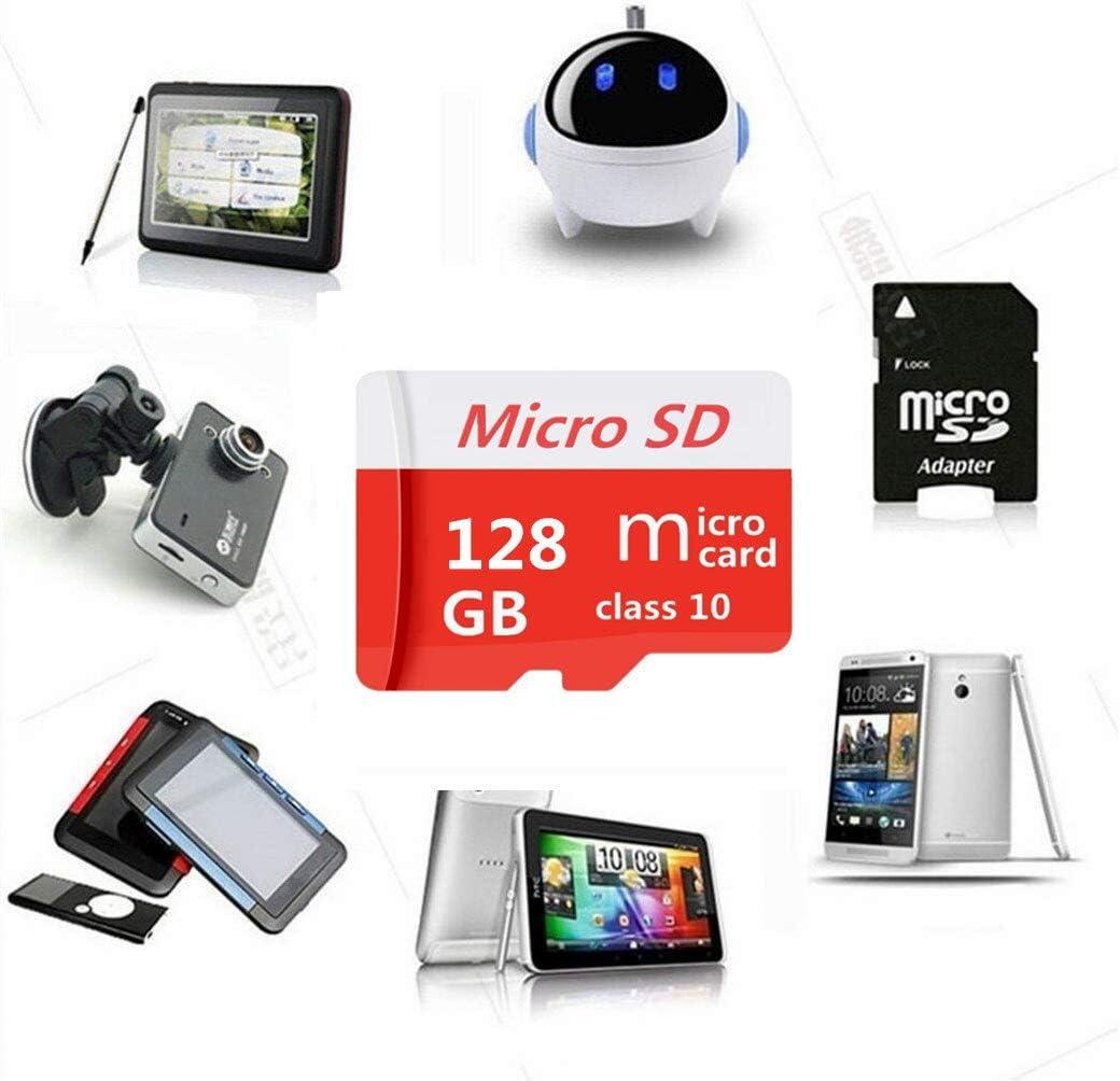 128 GB Scheda Micro SD SDXC ad alta velocit/à classe 10 128 GB//256 GB//400 GB//512 GB//1024 GB con adattatore SD