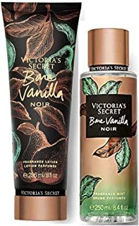 Victoria's Secret Fragrance Body Lotion & Body Mist Set (Bare Vanilla Noir)