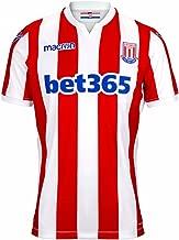 Macron 2018-2019 Stoke City Home Football Soccer T-Shirt Jersey