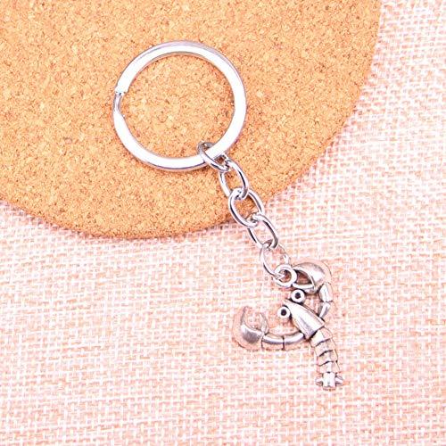WANGWL Hummer Krustentier KeychainSchlüsselringe Schlüsselketten Anhänger Männer Geschenk Schmuck für Geschenke