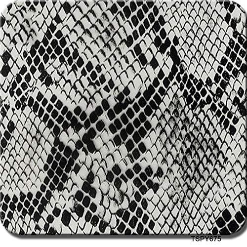 水圧転写フィルム ハイドログラフィックフィルム、0.5メートル幅 - 水転写印刷ハイドロディップフィルム - アニマルテクスチャ - マルチカラーオプション 水面転写シート (Color : TSPY675, Size : 0.5mx2m)