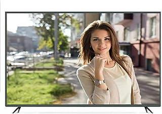 TASHA 4k Smart TV 50 tums WiFi-anslutning, smart LED TV, mobiltelefon trådlös projektion, 9H hårdhet härdat glas, USB 2.0 ...