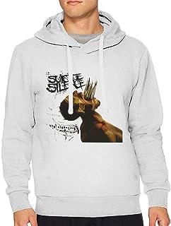Latoshachase Mens Sweater Long Sleeve Drawstring Hooded Funny Men`s Hooded