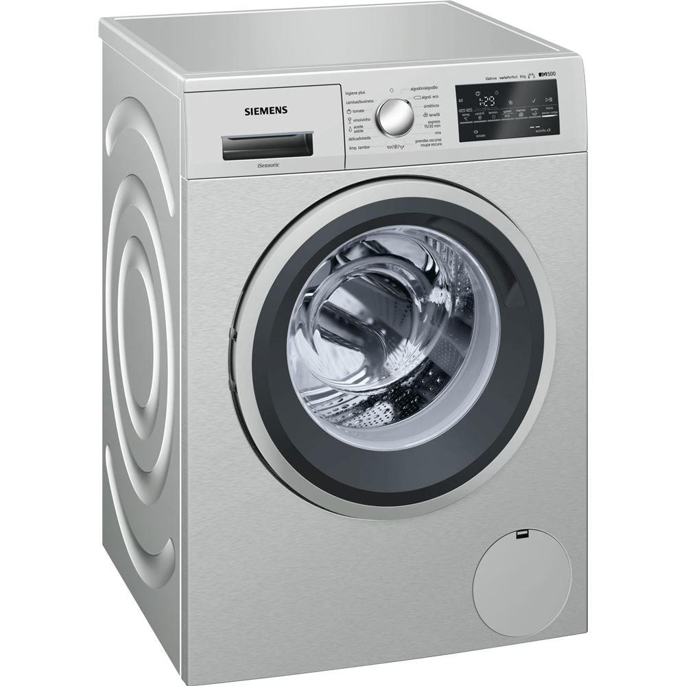 Siemens iQ500 WM10T49XES Independiente Carga frontal 8kg 1000RPM A ...