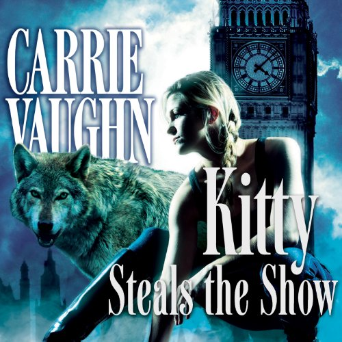 Kitty Steals the Show audiobook cover art