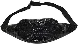 WILLTOO Women Chest Bag Crocodile Fashion Pattern Leather Shoulder Bag Mini Messenger for Shopping&Traveling