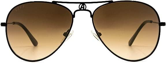 DIFF Eyewear - Captain Marvel Avengers Endgame - Collectors Aviator Sunglasses