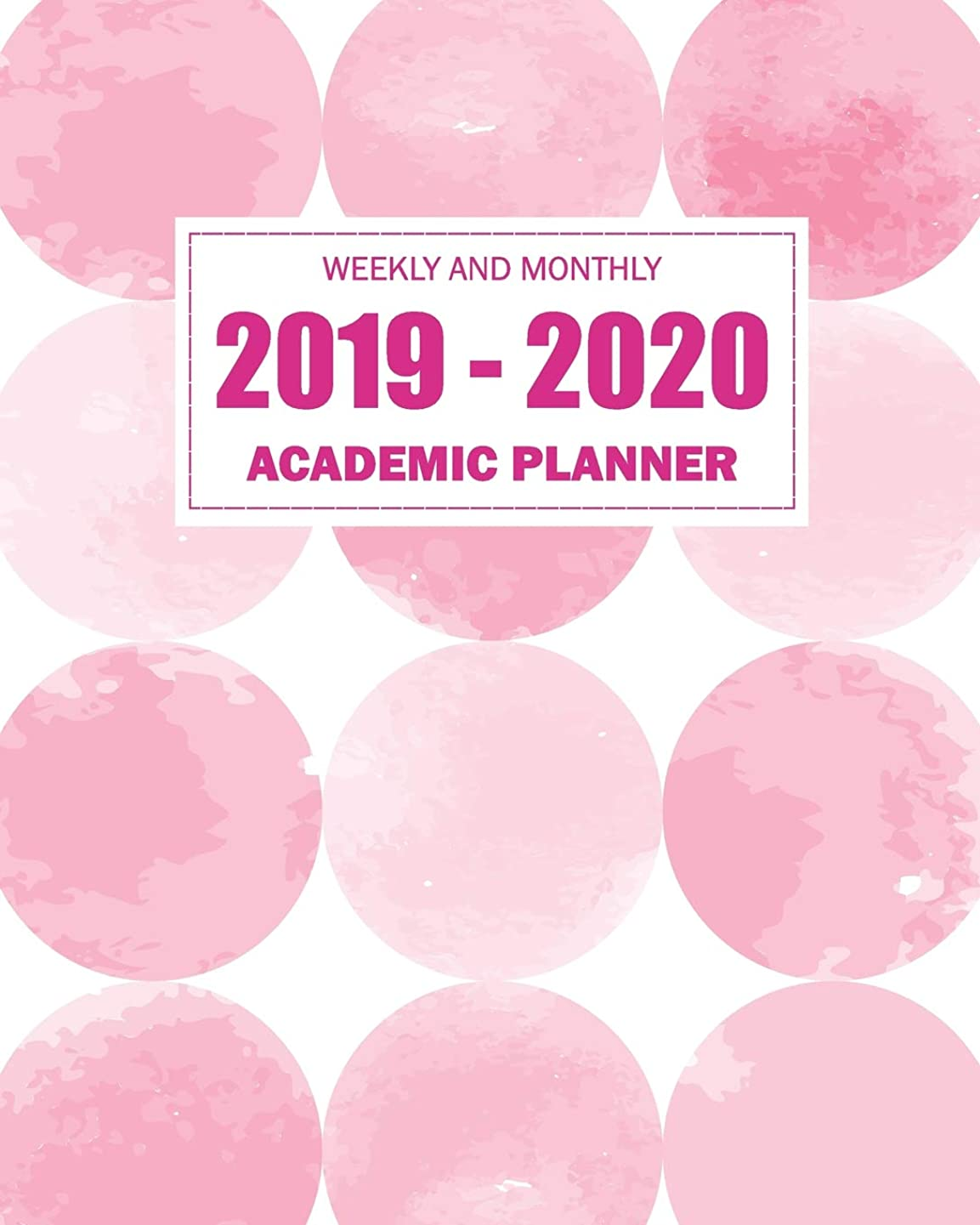 メディックギャロップ記念日2019-2020 Academic Planner Weekly And Monthly: Weekly calendar academic year July 2019-June 2020 college student appointment book planner (July 2019 - June 2020 Academic calendar)