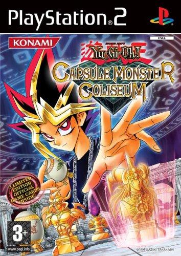 Konami Yu-gi-oh! Capsule Monster Coliseum, PS2
