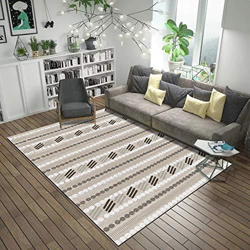 RRight! Tapis de Sol Morden Carpet Multicolore pour intérieur ou extérieur,G,120x160CM