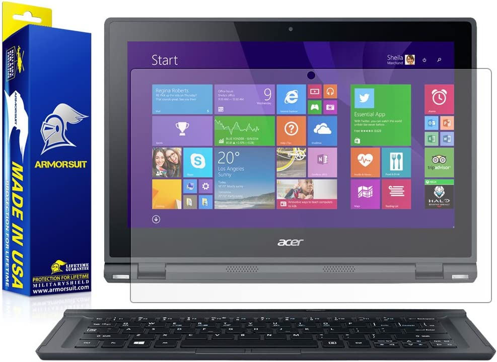ArmorSuit MilitaryShield Anti-Glare Screen Protector for Acer Aspire Switch 12 - [Max Coverage] Anti-Bubble Matte Film