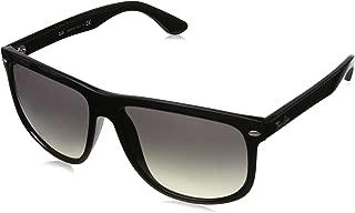 Ray-Ban RB4147 Sunglasses Color: Black Lens: Light Grey Gradient, Size 60mm