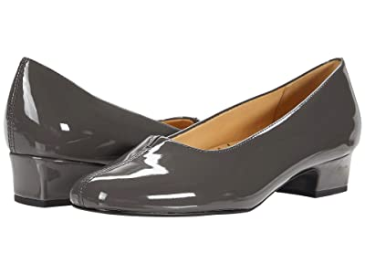 Trotters Doris (Grey Patent) Women
