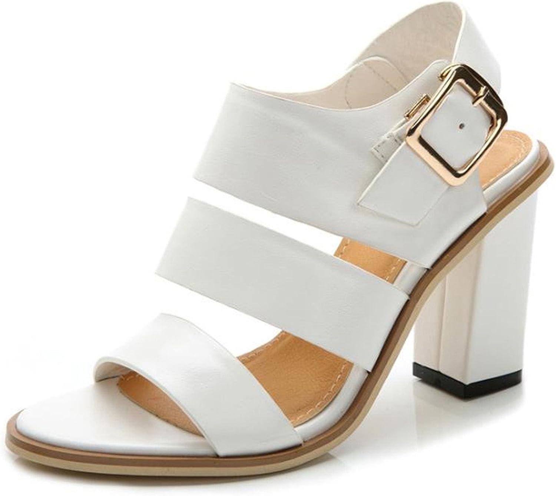 Karl Conner Women Fashion Sandals New Summer Peep Toe Heel Sandals